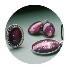 """Naïve Cluster"" | Elubium | Galaxy Jewelry | Online Store | Low Cost | Handmade | Craft"