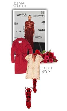 """Untitled #1329"" by lindagama ❤ liked on Polyvore featuring MaxMara, Rochas and Jeffrey Campbell"