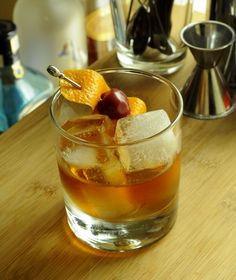 Three Ways To Make An Old Fashioned | Barman's Journal #Oldfashioned #Rye #Whiskey #cocktail #recipe #bourbon