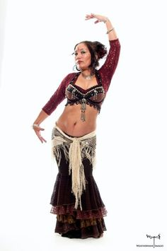 PATTERN For Sewing Fluffie Rufflie Dance Pant Tribal Belly Dance Samba Costume Multi Sized Pattern