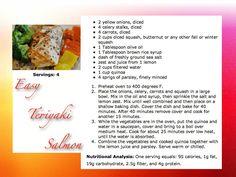 easy teriyaki salmon #recipe www.baltimorefitbodybootcamp.com
