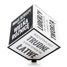 Motivation Cube - Kostka Motywacyjna (PL) - Prezent poleca ZróbPrezent.pl