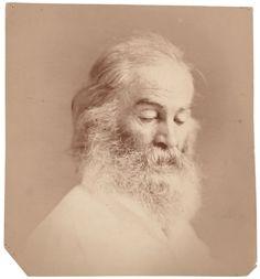 """William Kurtz, """"Walt Whitman"""", ca. 1870, Albumen print."""