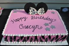 {Minnie Mouse Party} Cake