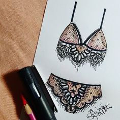 #draw #drawing #fashion #love #inlove #fashionillustration #illustration #lingerie #intimates #instagood  #fashiondesign #designdemoda #moda #art  #arte #croqui #handmade #lookdodia #lookoftheday #lace #vintage #fashion4arts