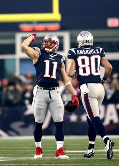 Danny Amendola Photos - Divisional Round - Kansas City Chiefs v New England Patriots - Zimbio