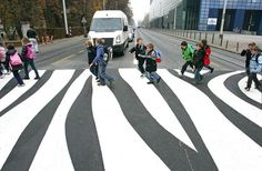 Zebra crossing. Why not?