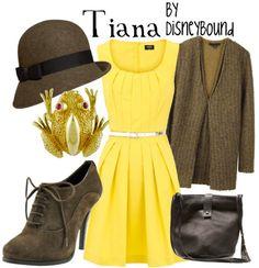 Tiana :) I love Disney Bound's outfits!