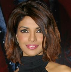 The Hair Makeovers - Priyanka Chopra... fake but i love this color for highlights!