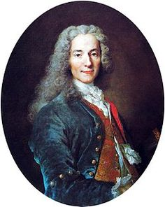Voltaire was widely known during this time for many reasons, including his books.  He was an author as well as a historian and philosopher.  He attacked the Catholic church and is known for his advocacy of freedom of religion, freedom of expression, and separation of church and state.