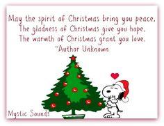 Christmas Quote via www.Facebook.com/MysticSounds