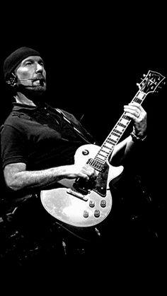 Edge Best Rock Bands, Cool Bands, Rock N Roll Music, Rock And Roll, Music Is Life, My Music, Music Guitar, Guitar Room, The Edge U2