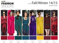 winter 2015 fashion colors   Fall/Winter 2014/2015 Runway Color Trends