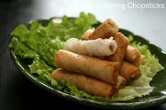 Cha Gio - Bietnamese Spring Rolls with rice wrappers..... finally an authetic recipe!  I plan to make these SOON but with precooked chicken ground, not raw pork and shrimp. FANTASTIC BLOG!