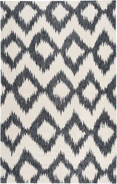 9 x 13 Diamond Melts Winter White and Black Ink Hand Woven Wool Area Throw Rug by Diva At Home, http://www.amazon.com/dp/B00D237SFM/ref=cm_sw_r_pi_dp_HEsPrb0S55D0D
