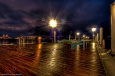 Water drops on the lense and loosing light, time to pack it up! - new docks in West Palm Beach, FL   Photomike07 / MDSimages.com, via Flickr