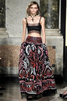 Emilio Pucci Spring 2012 Collection ( exept the necklace the ret is pretty awesome)