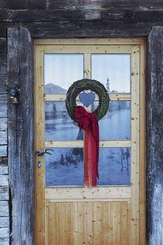 Eingang zum Bauernhaus // Entrance to the cottage Private Sauna, Frame, Home Decor, Modern Farmhouse, Entrance, Picture Frame, A Frame, Interior Design, Frames