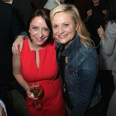 Rachel Dratch & Amy Poehler