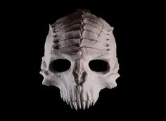 Creators and purveyors of the macabre and by GoblinsHoard on Etsy Halloween Skull, Halloween Costumes, Halloween Ideas, Creepy Halloween, Cthulhu, Horror Decor, Horror Art, Mask Painting, Half Mask