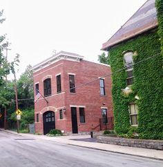 brick carriage house narrow lot - Google Search