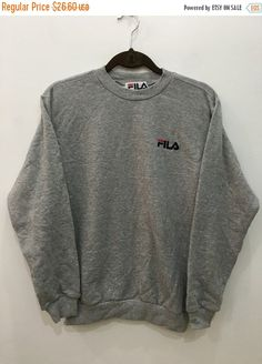 ON SALE Vintage 90er Fila Biella Italia von GoldClothingVIntage