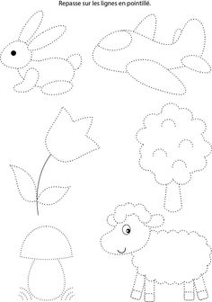 Free printable shapes worksheets for toddlers and preschoolers. Preschool shapes activities such as find and color, tracing shapes and shapes coloring pages. Preschool Writing, Numbers Preschool, Preschool Learning Activities, Free Preschool, Writing Activities, Teaching Kids, Kids Learning, Shapes Worksheets, Tracing Worksheets