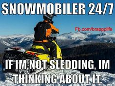 If I'm not sledding, I'm thinking about it Winter Fun, Winter Sports, Snowmobile Trailers, Polaris Snowmobile, Sled, How To Relieve Stress, Motocross, Arctic, Good Times
