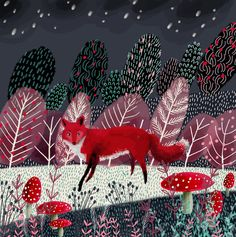 Jane Newland Illustration Art Portfolio Personal Work