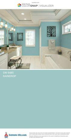 New bath room paint blue vanities 58 ideas Interior Paint Colors, Paint Colors For Home, Paint Colours, Room Colors, House Colors, Home Renovation, Home Remodeling, Room Paint, House Painting