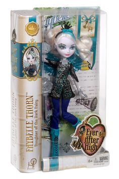 Check out the Ever After High™ Faybelle Thorn™ Doll at the official Mattel Shop website. Explore the world of Ever After High today! Mattel Shop, Mattel Dolls, Doll Toys, Ever After High, Toys For Girls, Kids Toys, Ever After Dolls, Christmas Gifts For Girls, Fairy Dolls