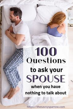 100 Questions to Ask Your Spouse to Reconnect - The Savvy Sparrow Need fun conversation starters for Marriage Help, Healthy Marriage, Happy Marriage, Successful Marriage, 100 Questions To Ask, Couple Questions, This Or That Questions, Date Questions, Questions For Boyfriend