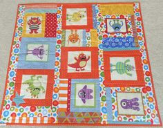 Baby Quilt monsters