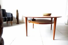 Coffee Table by Peter Hvidt & Orla Mølgaard-Nielsen for France & Søn