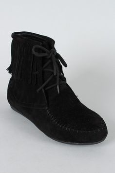 Moccasin Ankle Bootie
