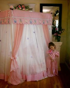 canopy tent beds for girls | Disney Princess canopy Bed - Canopy Bedding Sets - The & Creating Magical Spaces for Kids at Home | Girls canopy beds ...