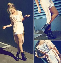 Heads and Tails (by Morgan Joanel)  via Lookbook.nu feat. Lotus Mendes Wings Necklace (http://lookbook.nu/look/2081055-Heads-and-Tails)