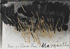 Anselm Kiefer 'Dein goldenes Haar Margarethe' 1981