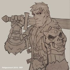 ArtStation - Dungeons & Dragons - Cutter , Johannes Helgeson