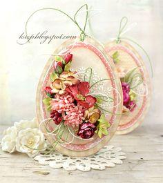 Lovely Easter Egg card by Klaudia/Kszp Egg Crafts, Easter Crafts, Handmade Greetings, Greeting Cards Handmade, Egg Card, Easter Art, Quilling Cards, Scrapbooking, Heartfelt Creations