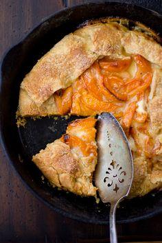 Late-Season Apricot & Mascarpone Galette
