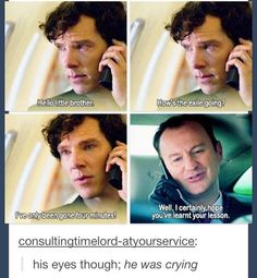 Mobile Uploads - We Owe You Sherlock | via Facebook