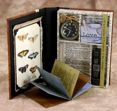 Cape Cod nook book variation in Wildflowers papers and newsprint
