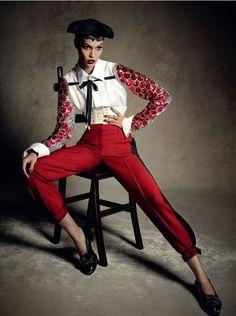 Opulent Matador Couture