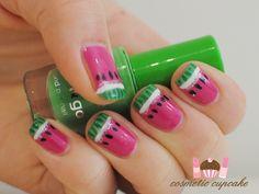 watermelon nails nails