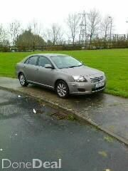 TOYOTA AVENSIS 06' DIESEL, 6 SPEED,  NCT'd 08-2016