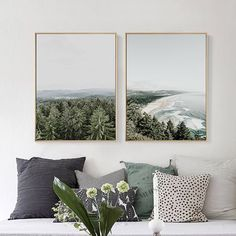 Cheap painting poster, Buy Quality wall pictures directly from China picture for home Suppliers: Nordic Landscape Canvas Art Print Painting Poster, Giclee Print Wall Pictures For Home Decoration, Wall Decor SJ