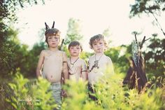 stylized boy session  {via iHeartFaces.com}