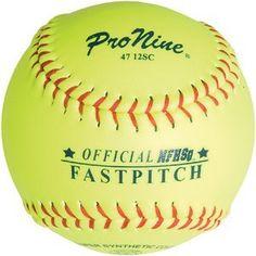ProNine Girls Fastpitch Softballs 12 Inch (3-Pack) - http://homerun.co.business/product/pronine-girls-fastpitch-softballs-12-inch-3-pack/