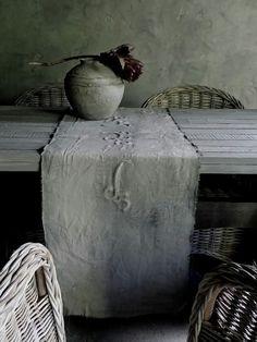 Kalkverf tafelloper